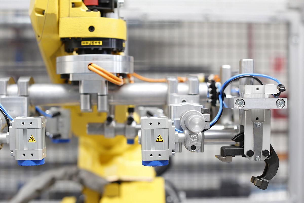 robotica industrial automatización